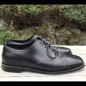 PRADA Derby Oxford Shoes Mens Size 10 Black
